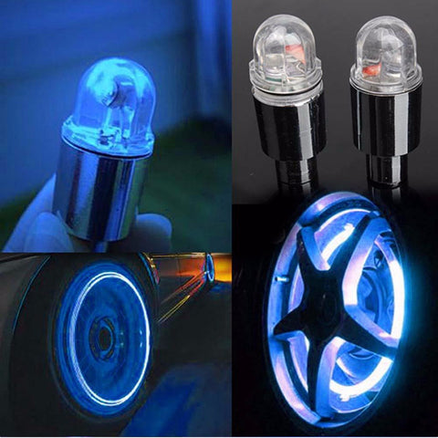 Firefly Spoke Wheel Tire LEDs Neon Light   2 Pieces