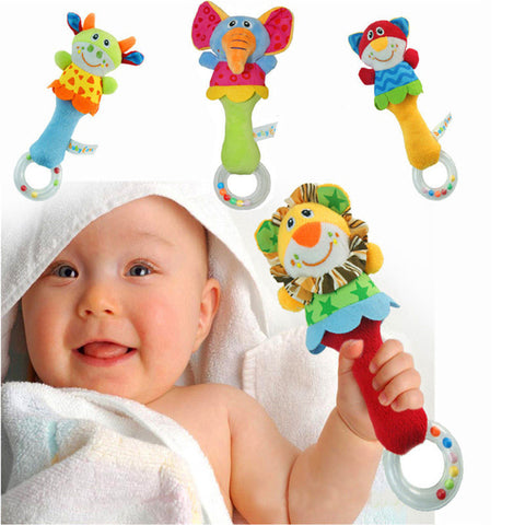 Musical Developmental Animal Rattle for Babies