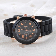 Geneva Casual Military Quartz Wristwatch Unisex
