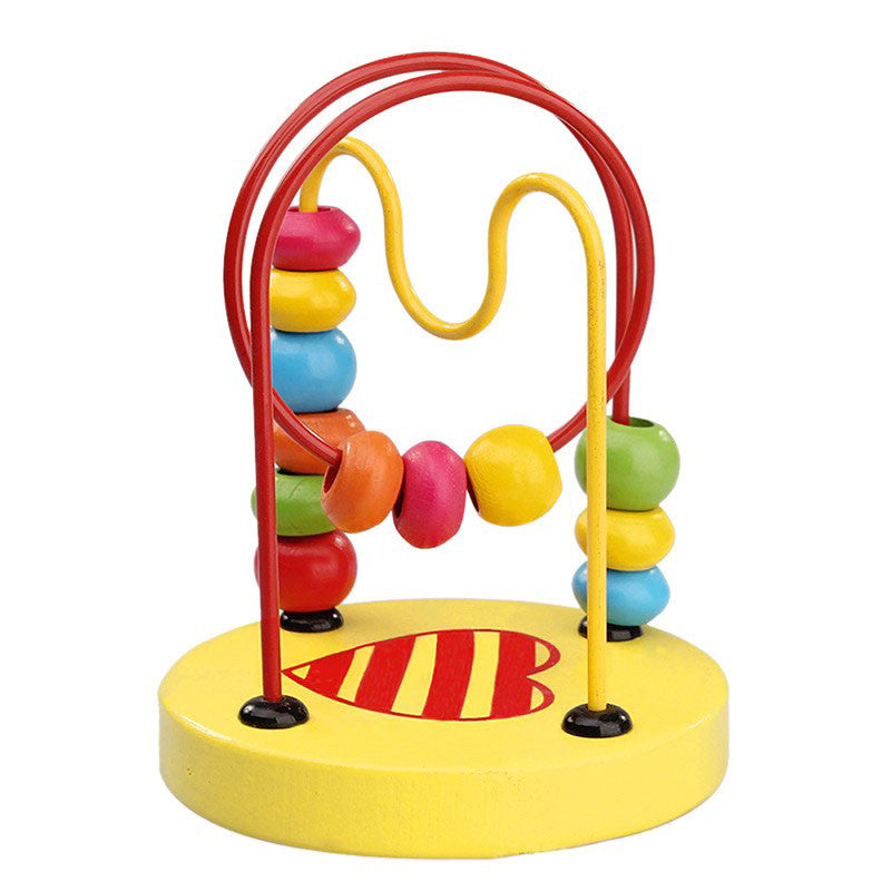 Toddler Colorful Wooden Maze Toy