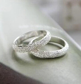 FREE Fortunately Life Is Simple Frosted Ring 1pcs