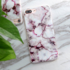 Painted Granite Marble Soft Case for iPhone 5S 5 SE 6 6S 6Plus 7 7Plus