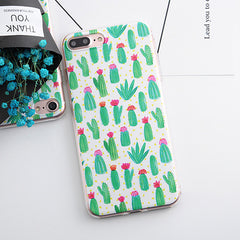 Hearts / Flowers / Daisy / Plants / Fruit / Cactus Leaves Phone Cases for iphone 5s 5 SE 6 6s 6plus 7 7plus