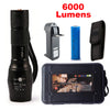 XM-L2 Tactical Zoomable LED flashlight  6000 Lumens