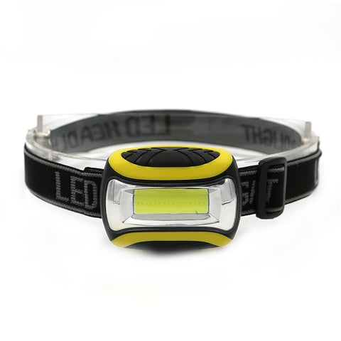 Adjustable Mini Waterproof LED Headlamp  3 Modes