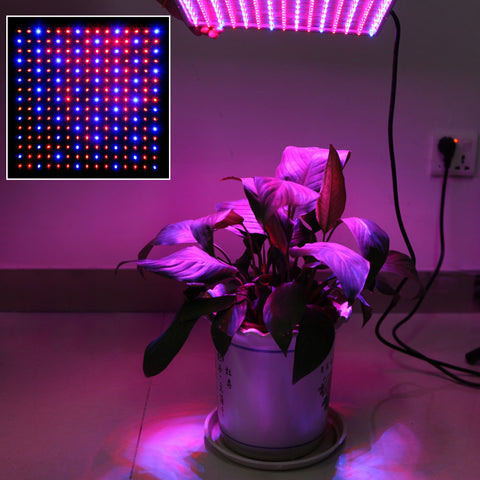 Hydroponic LED Plant Grow Light Panel Lamp 14W