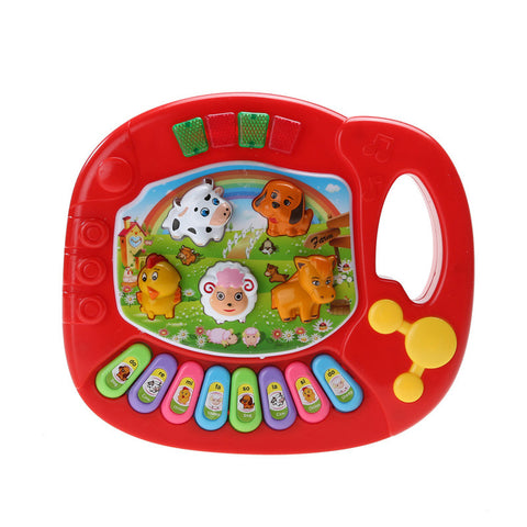 Educational Baby Farm Animal Musical Piano Toy