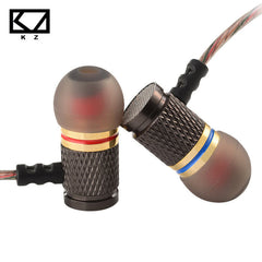 Original KZ Gold Plated In Ear Noise Isolating Headphones