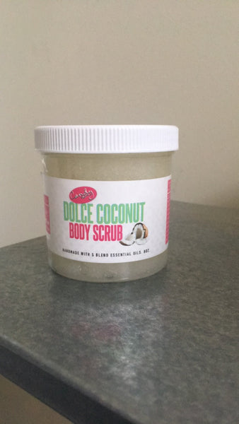 8 oz. Dolce Coconut Body Sugar Scrub
