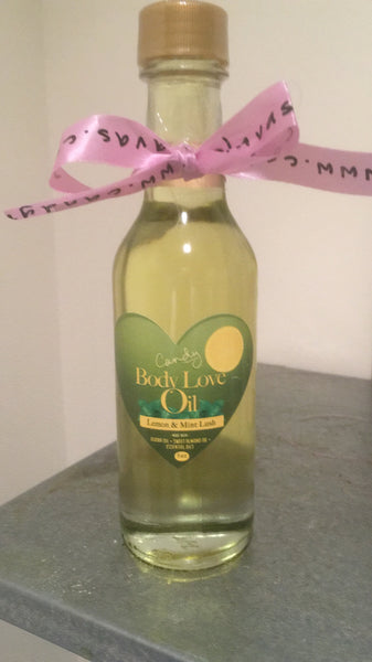5 oz. Lemon Mint Lush Body Love Oil