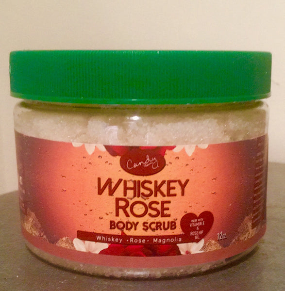 12oz. Whiskey Rose Magnolia Sugar Body Scrub