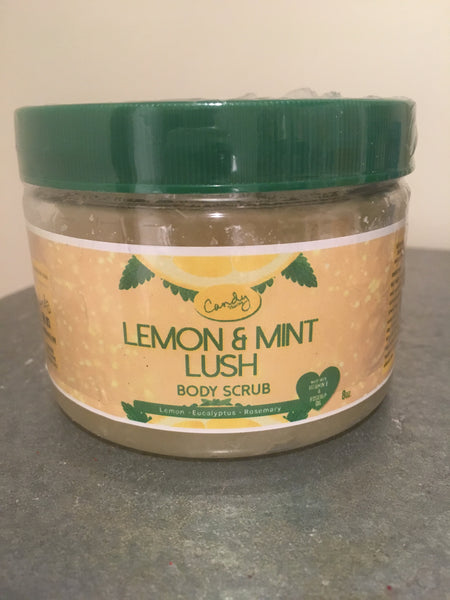 12oz. Lemon Mint Lush Sugar Body Scrub