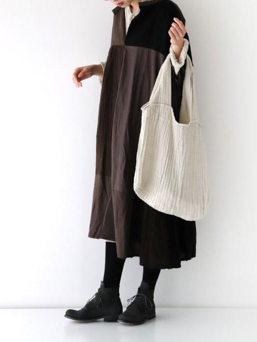 Namu Shop - Veritecoeur Washer Tweed Tote Bag