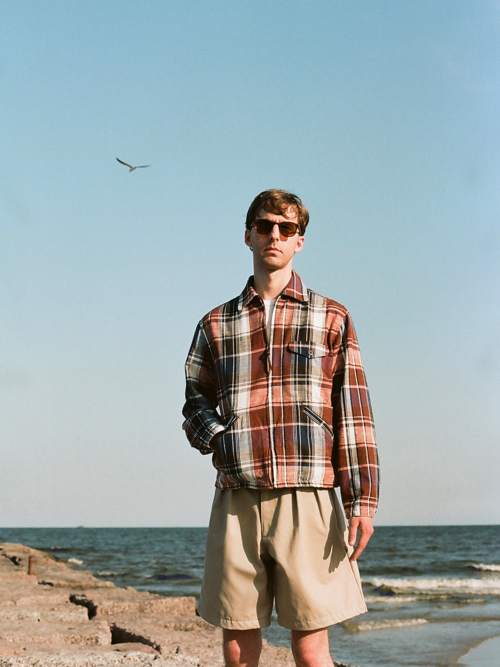 Drizzler Jacket - Madras Check