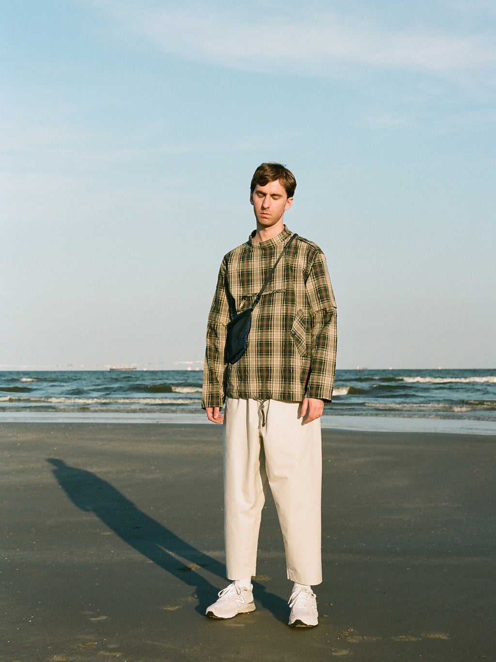Smock Shirt - Green Multi Check