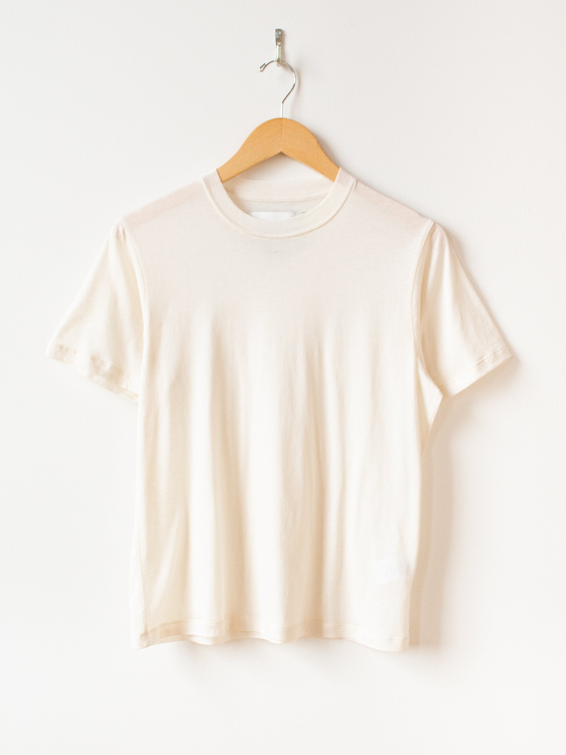 Kemi Silk Cotton Jersey T-Shirt - Milk