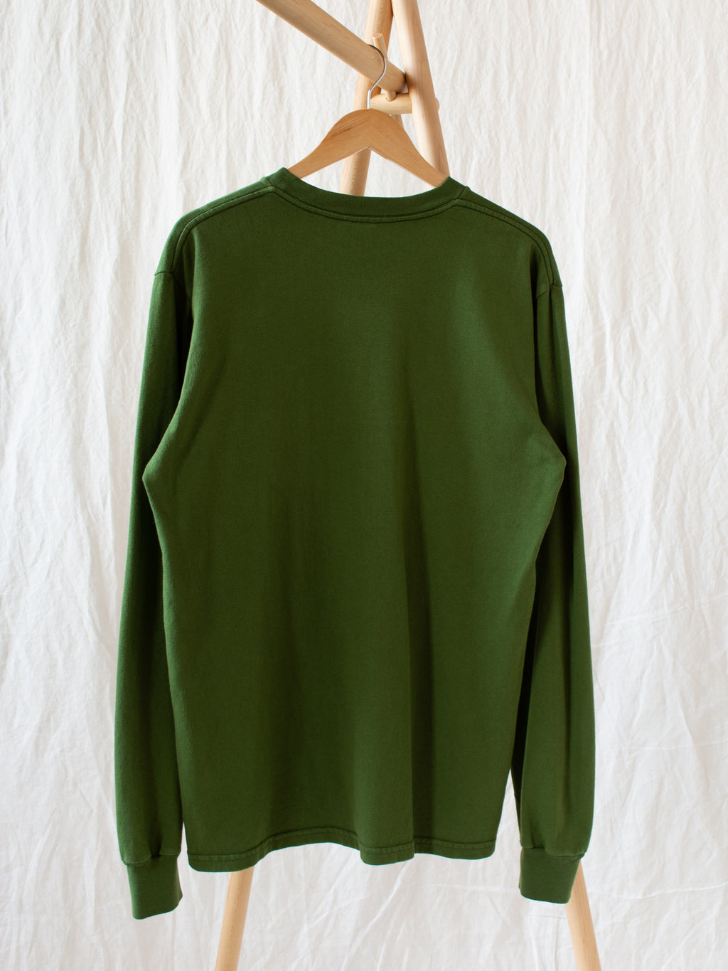 Namu Shop - paa LS Pocket Tee - Moss