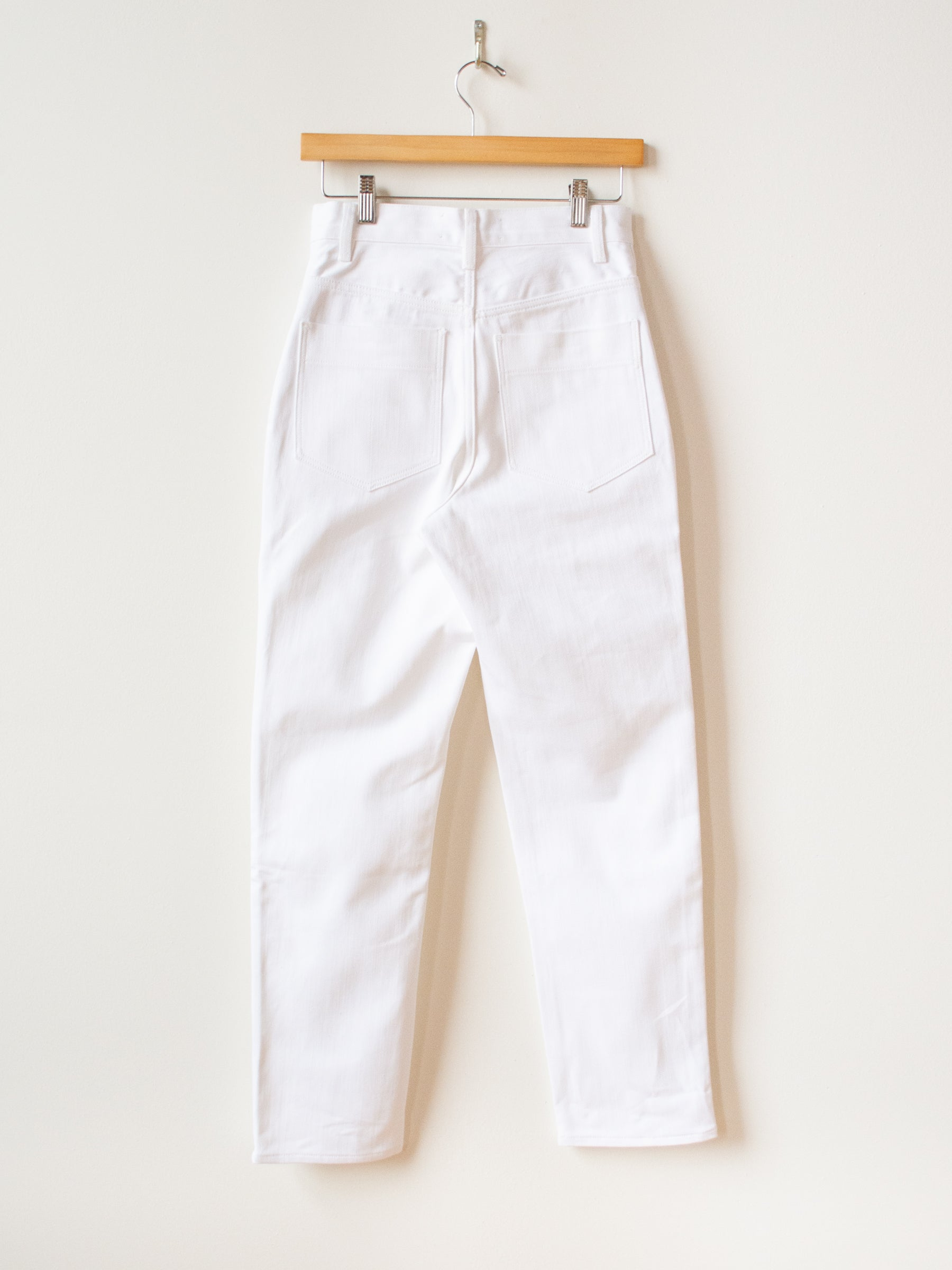 Avanti Selvedge Denim - Optic White