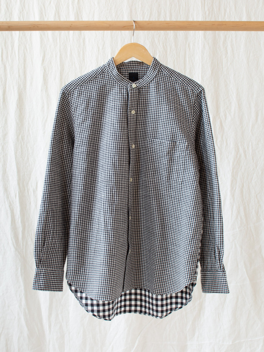 Namu Shop - Maillot Stand Combi Shirt - Black Check