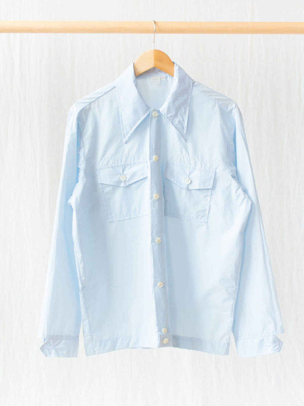 Namu Shop - paa Rodeo Shirt - Soft Blue