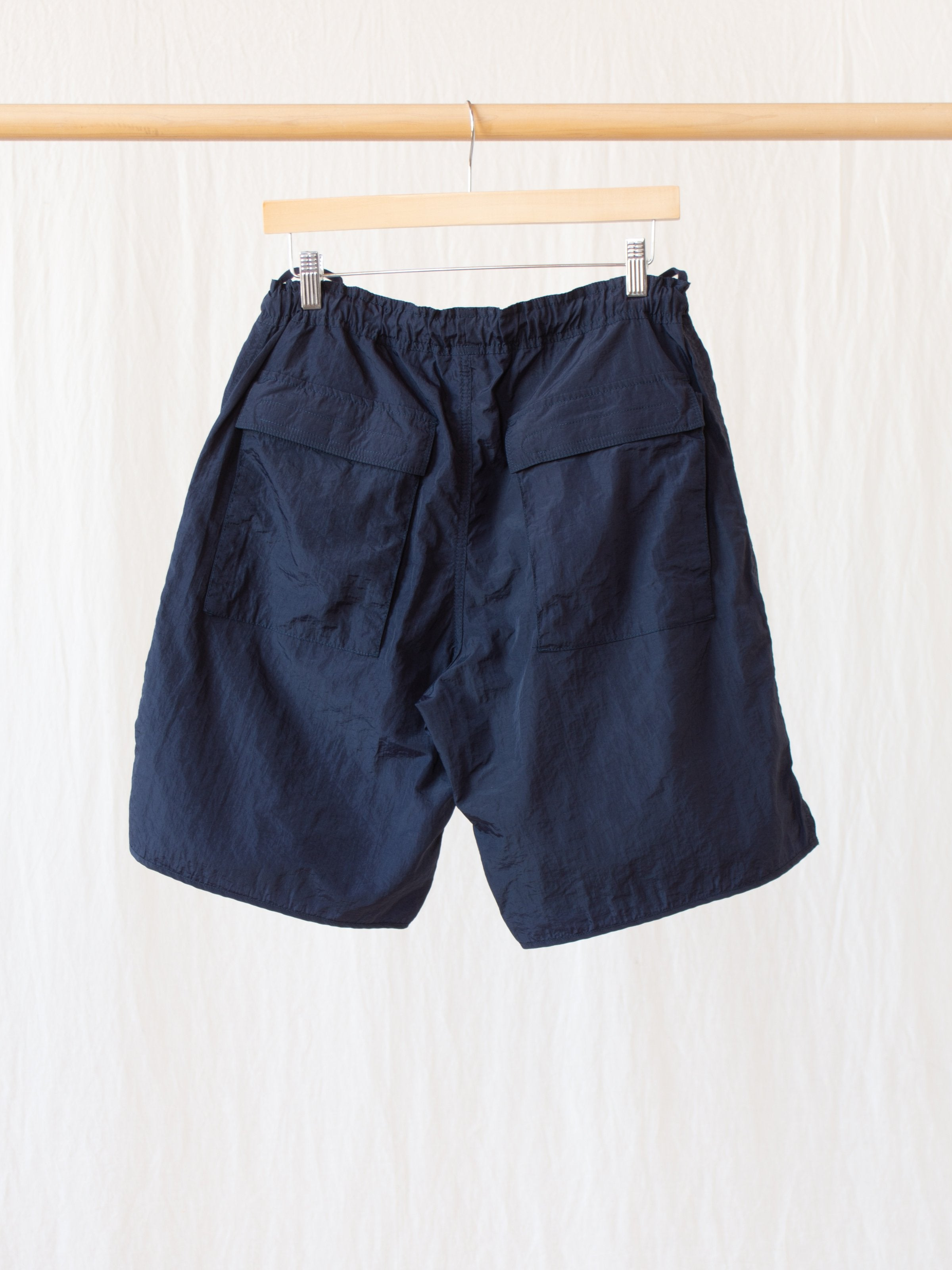 Namu Shop - Eastlogue CBR Shorts - Navy Nylon Washer