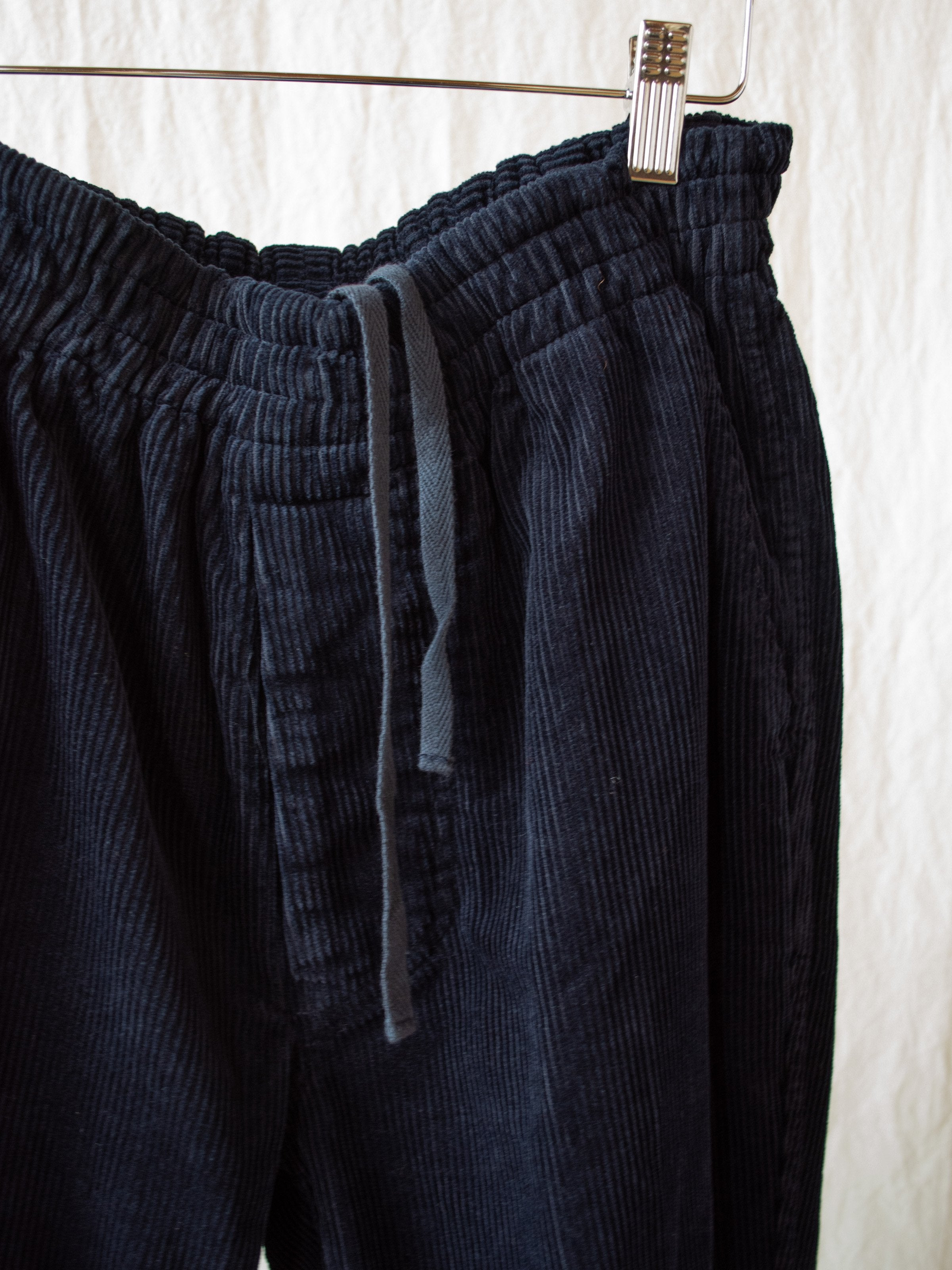 Namu Shop - Document Corduroy Pants - Navy