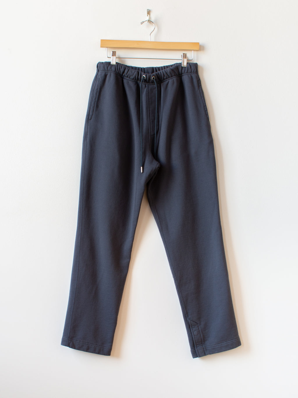 Cotton French Terry Sweatpants - Charcoal