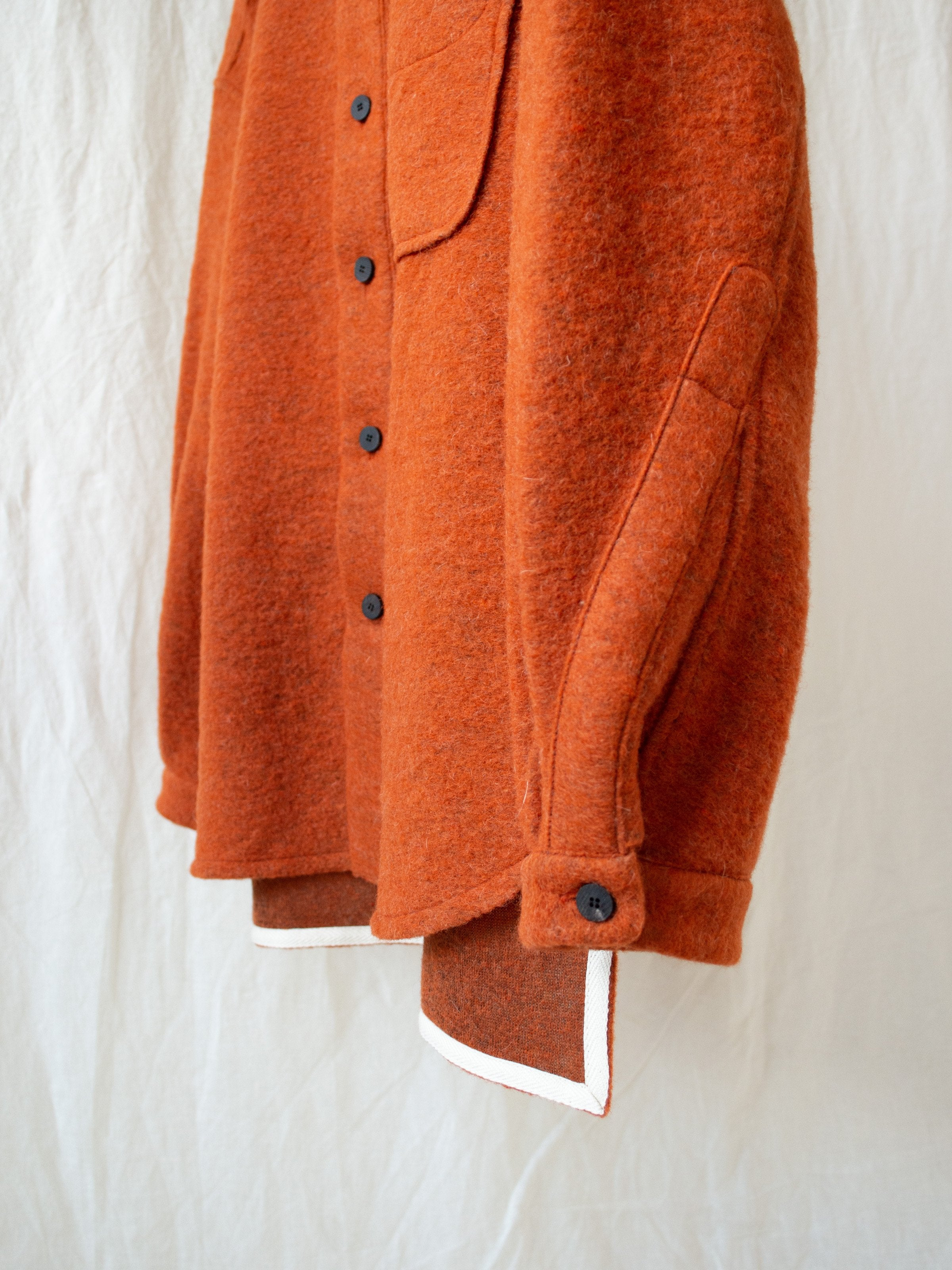 Sliba Wool Shirt - Orange