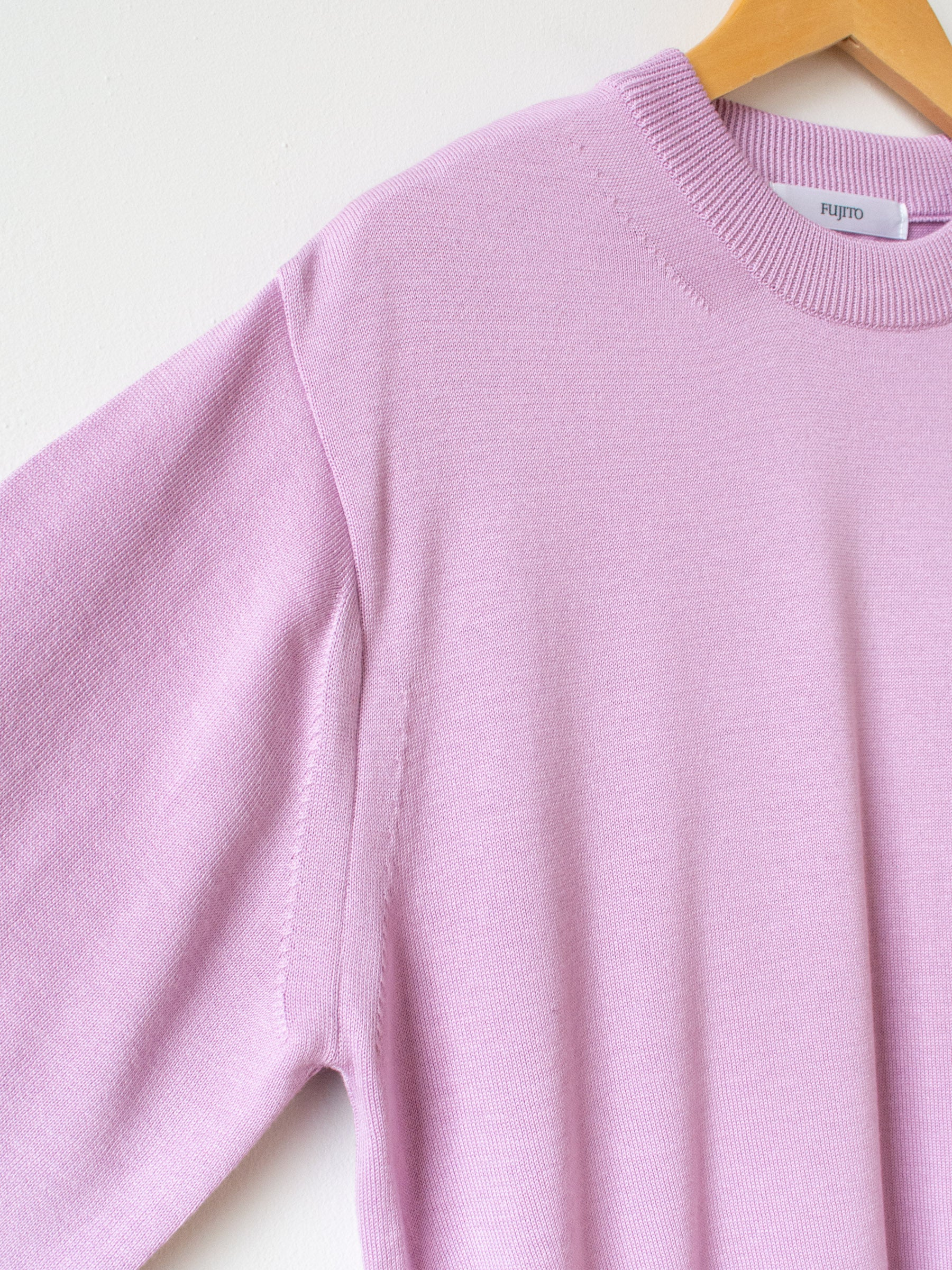 Co Silk C/N Knit Sweater - Lavender