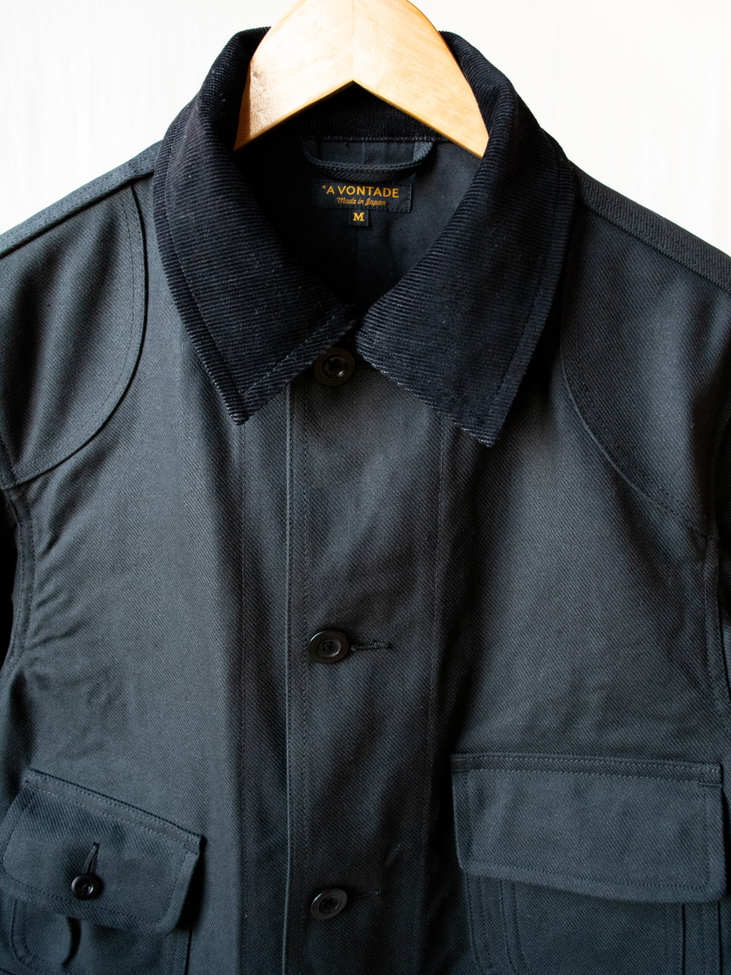 Old Hunting Jacket - Black