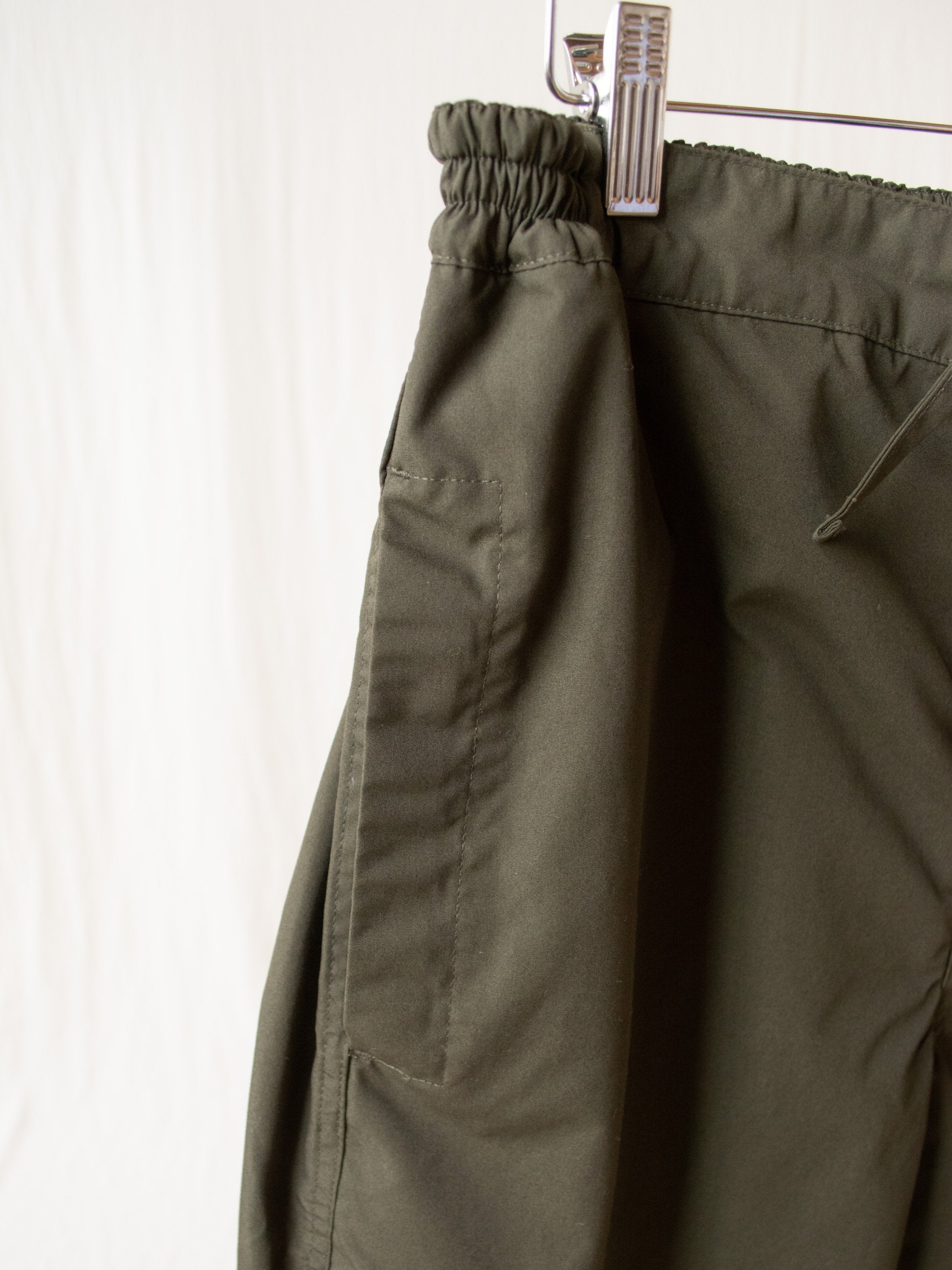Namu Shop - Document Painter Pants - Forest Green