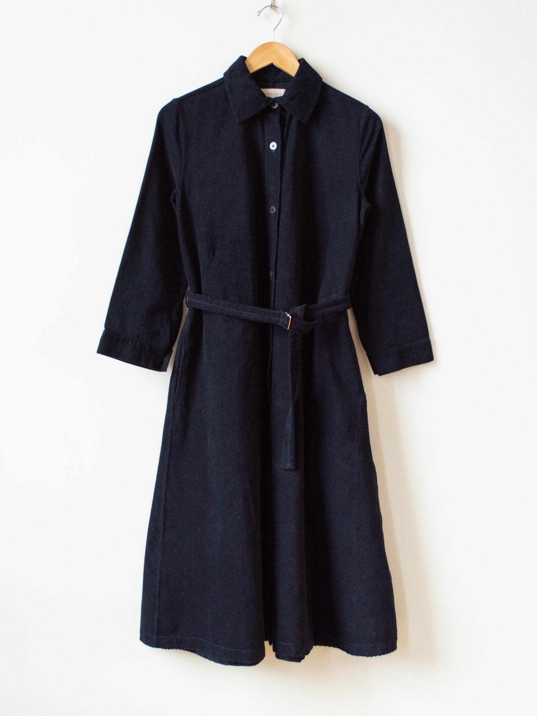 Tauri Dress - Midnight Blue Cotton Corduroy