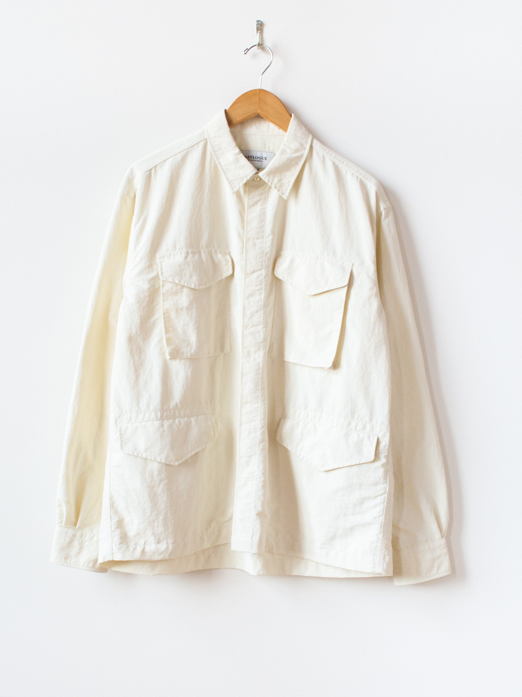 M65 Shirt - Off White Nylon Washer