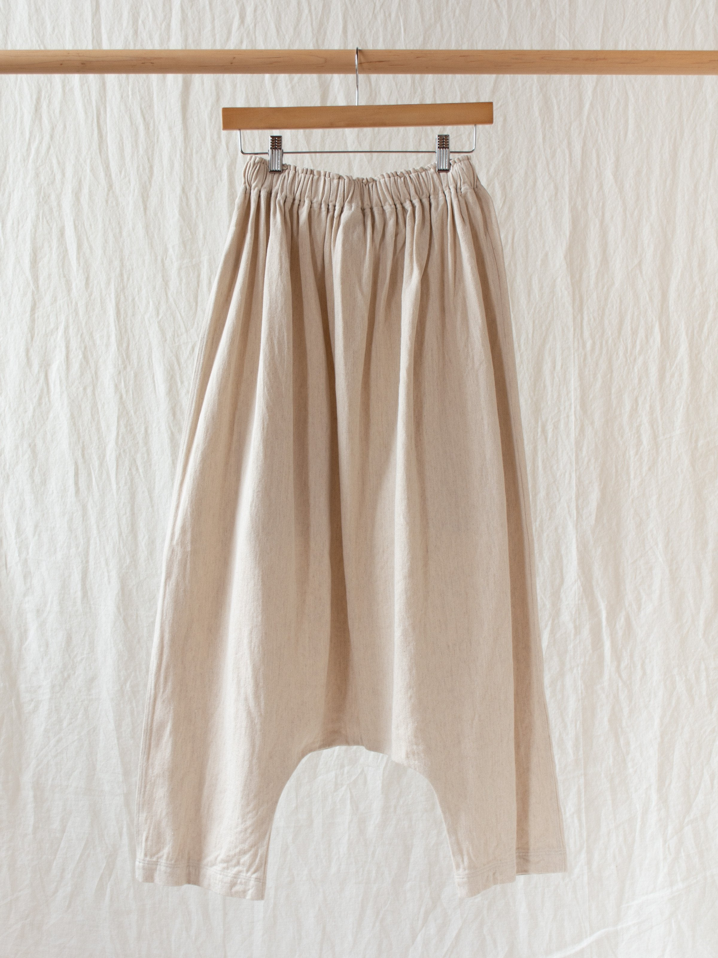 Namu Shop - Ichi Antiquites Cotton Linen Pant - Natural
