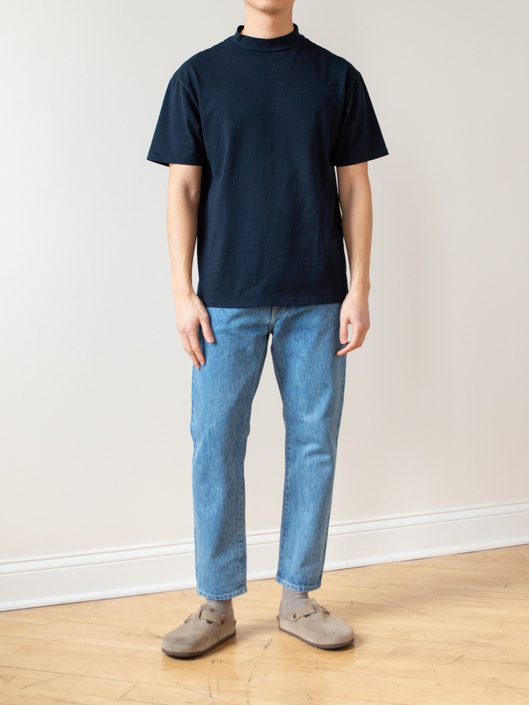 Regular Tapered Denim - Ice Blue