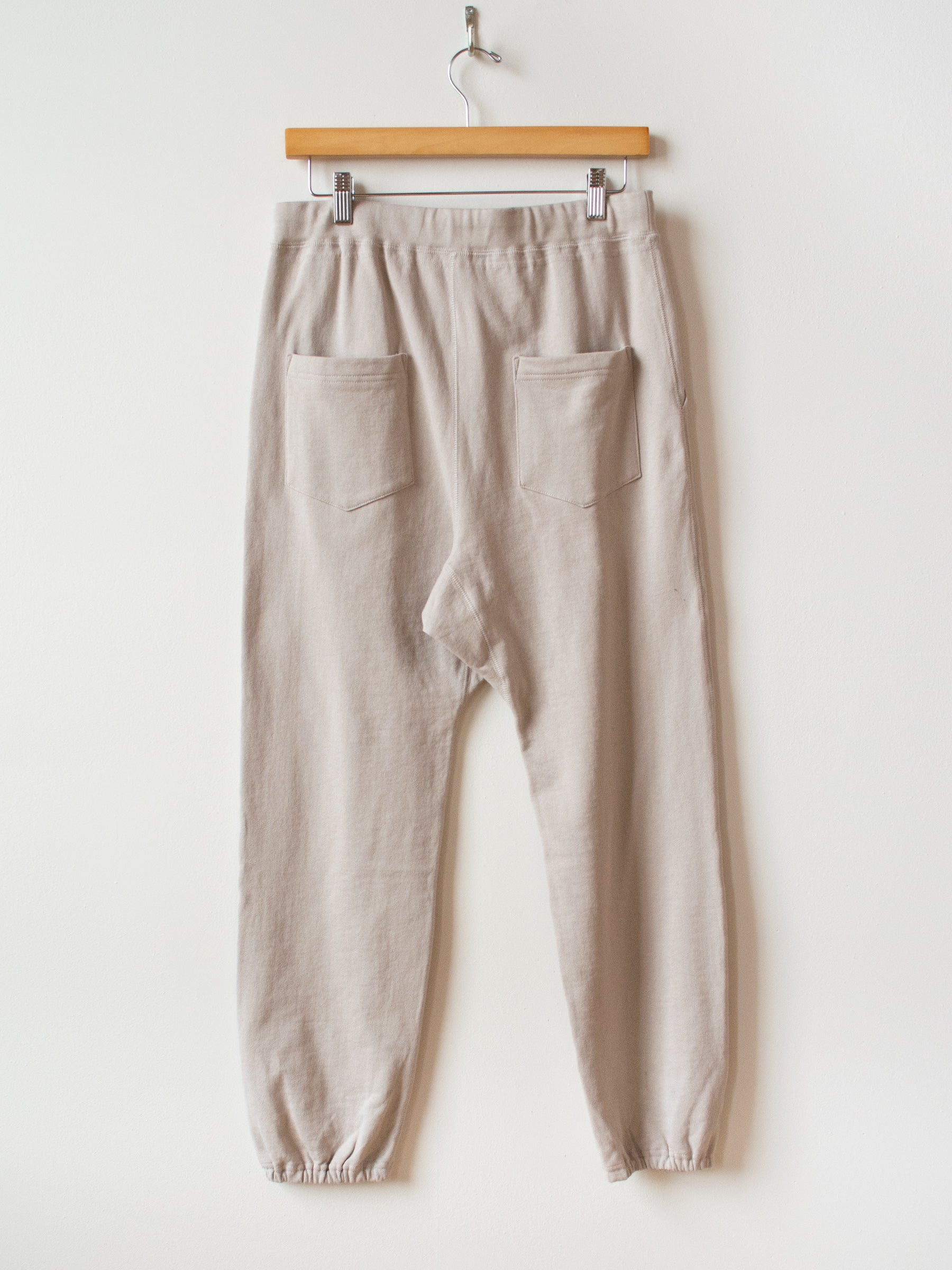 Cotton Sweatpants - Beige