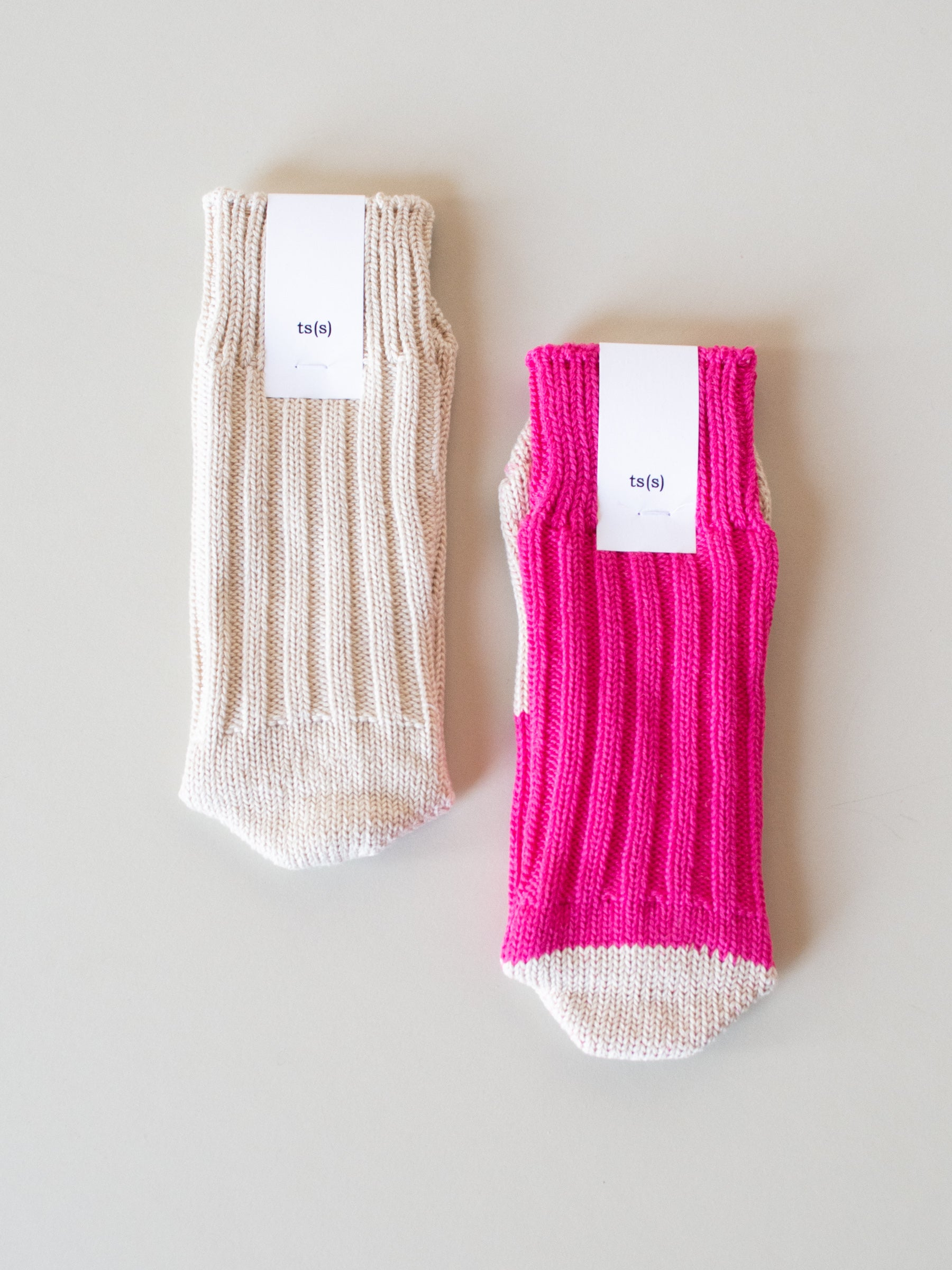Mix and Match Cotton Rib Sock - Multiple Colors