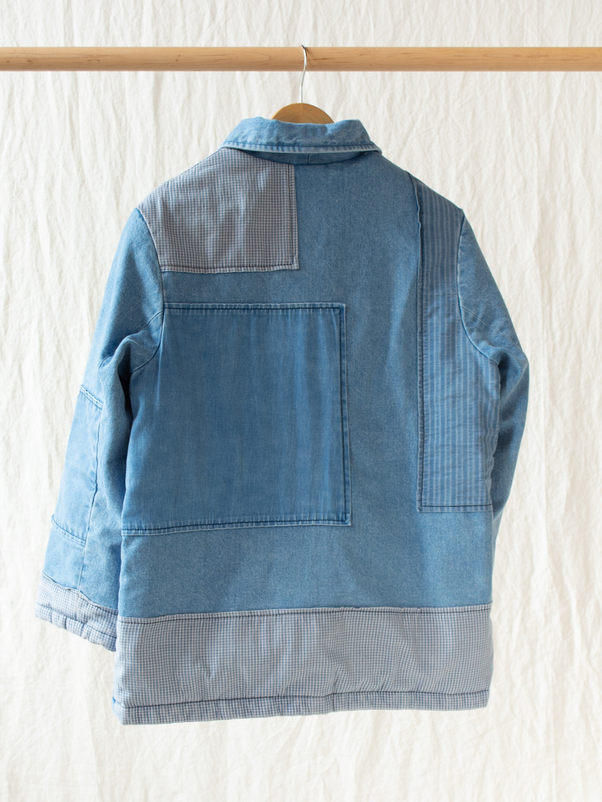 Namu Shop - Caron Callahan Paddington Jacket - Blue Denim Patchwork