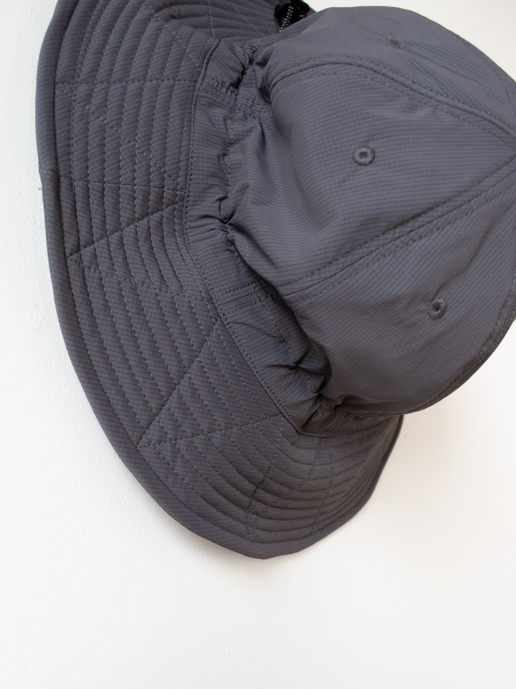 Stretch Nylon Hiker Hat - Gray