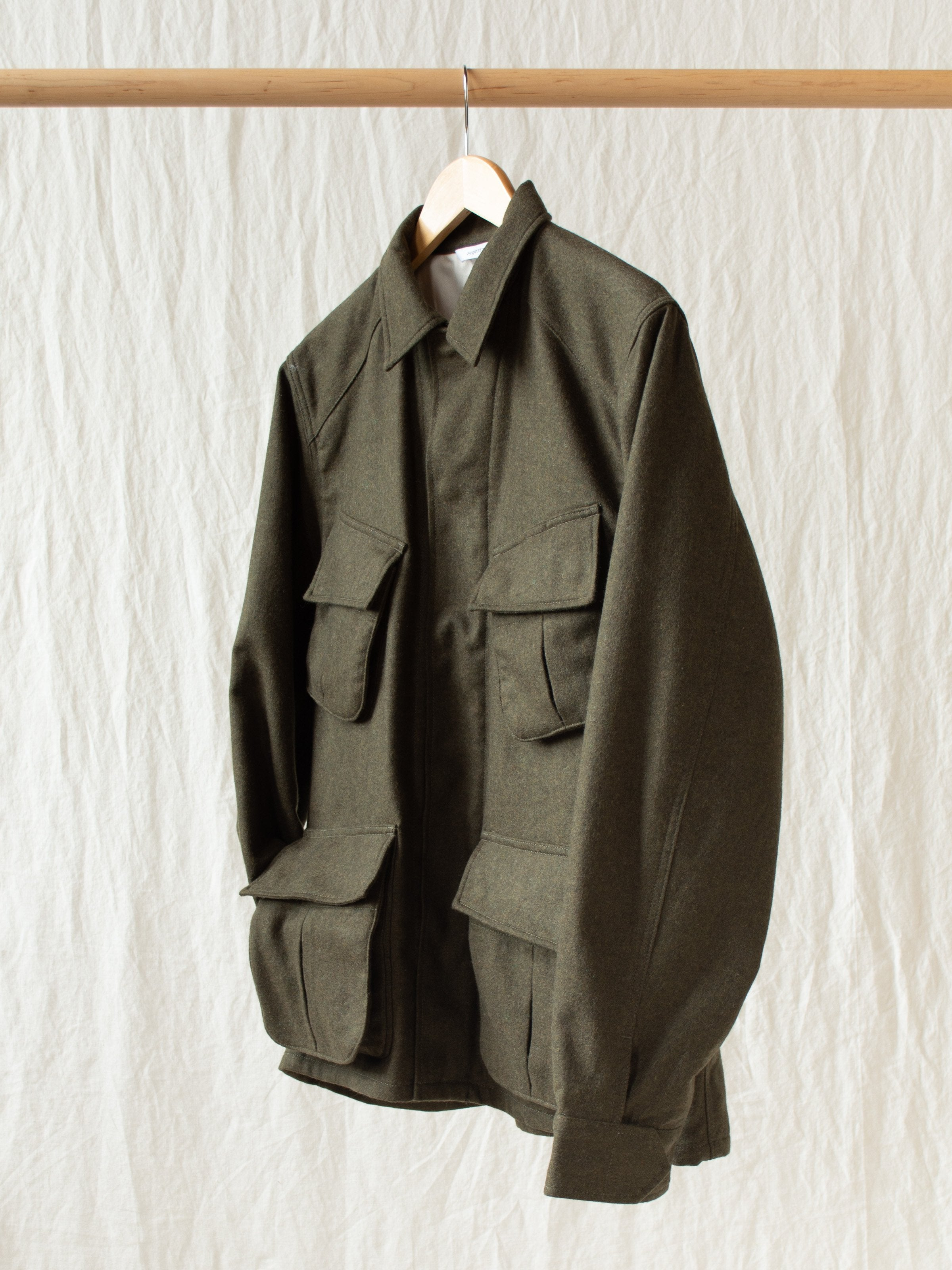 Namu Shop - Fujito Jungle Fatigue Jacket - Khaki