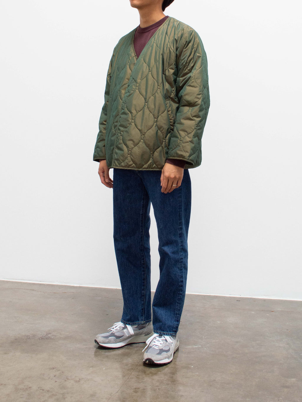 Namu Shop - Hatski Regular Tapered Denim - Blue