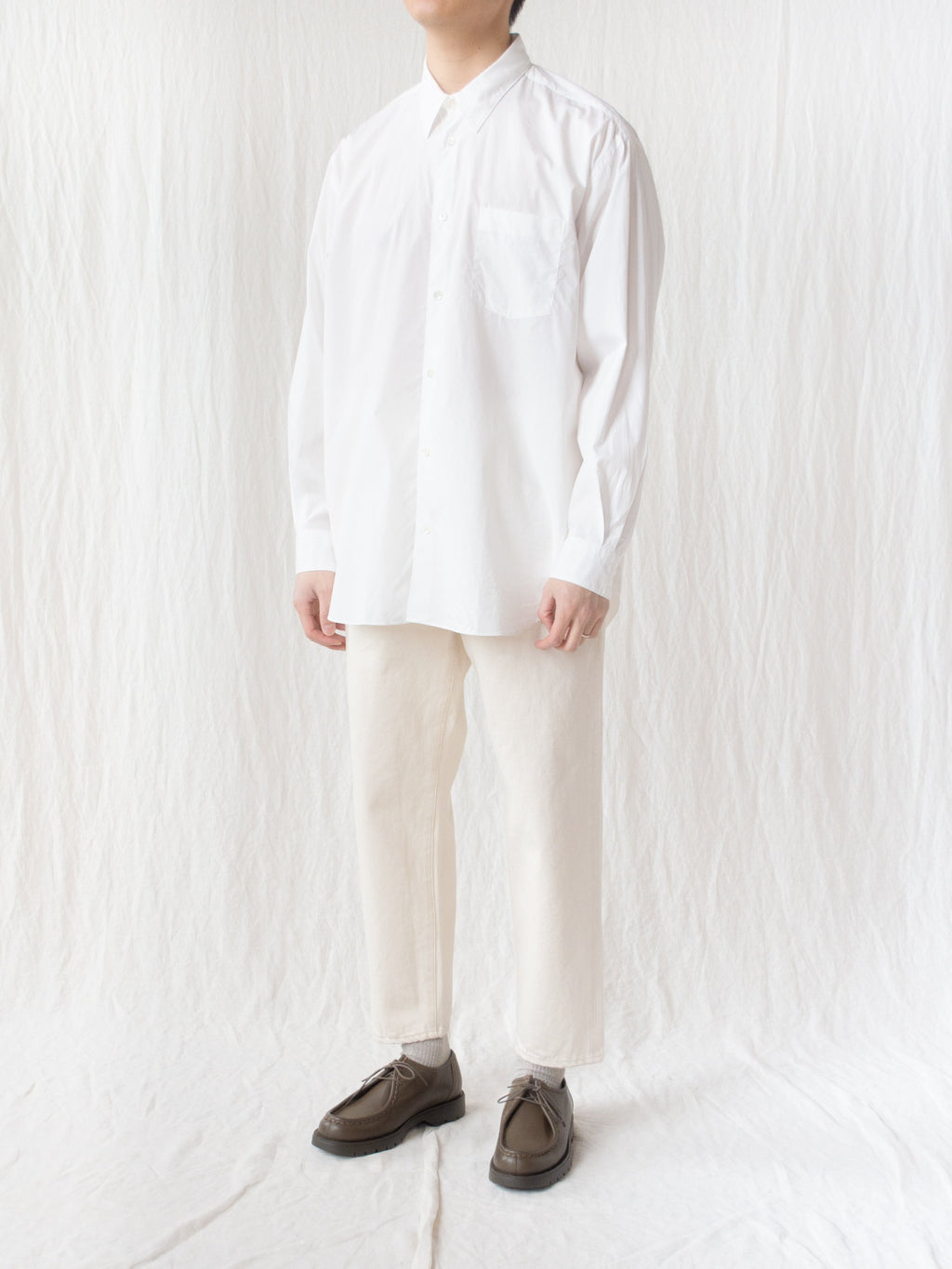 Namu Shop - Fujito B/S Shirt - White