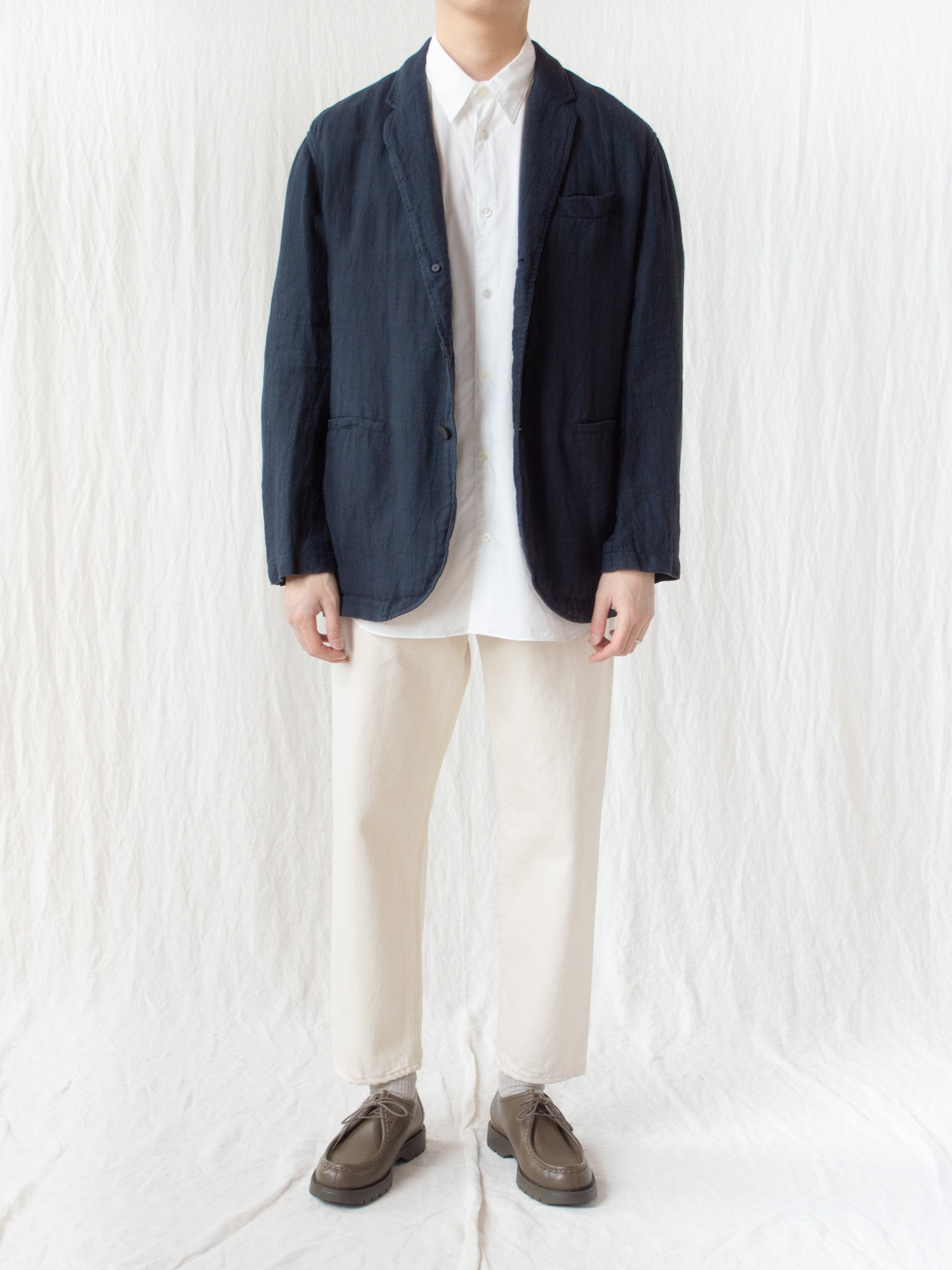 Namu Shop - Document Linen Relaxed Jacket