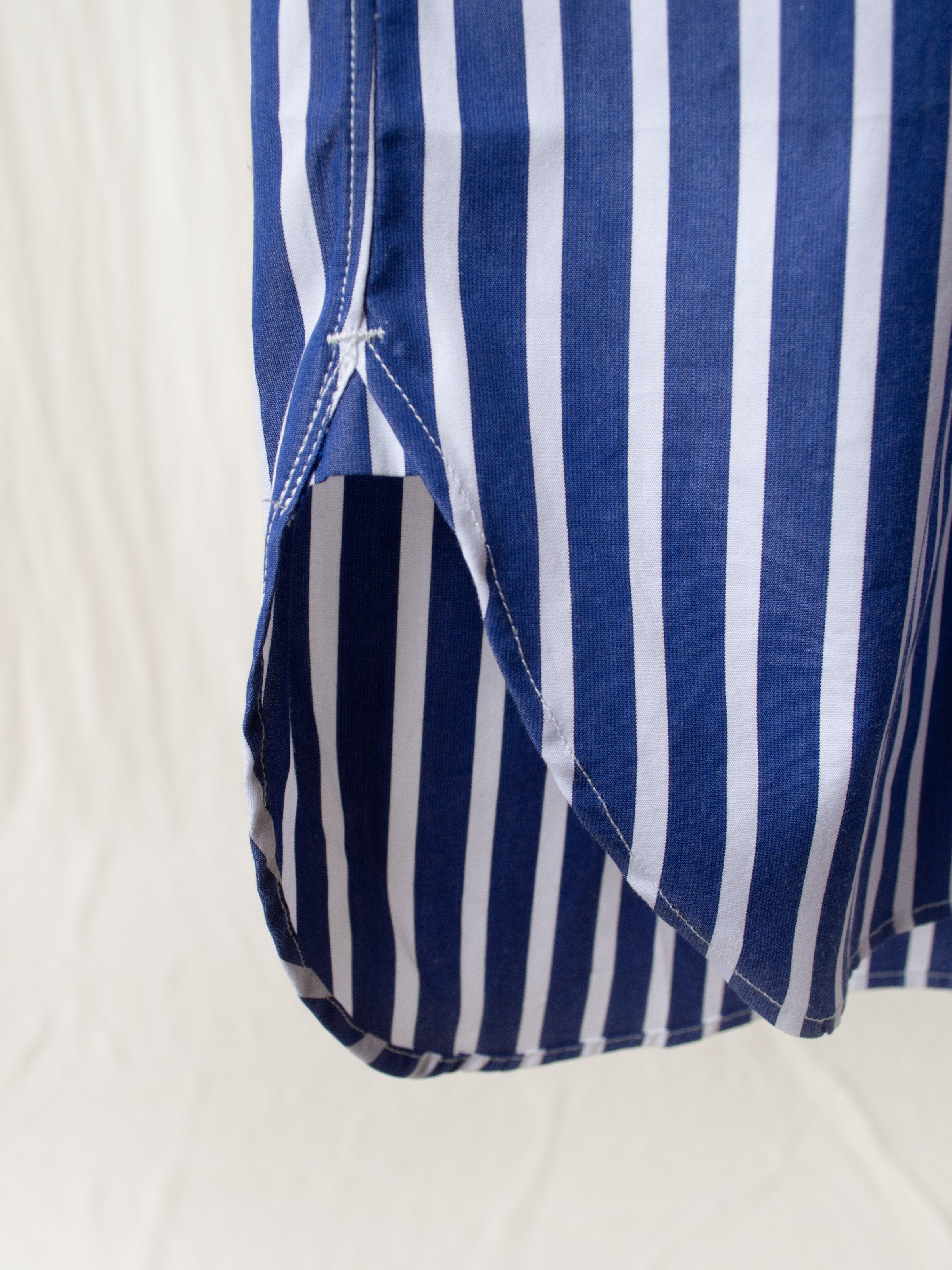 Namu Shop - A Vontade Weekend BD Shirt - Blue/White Stripe