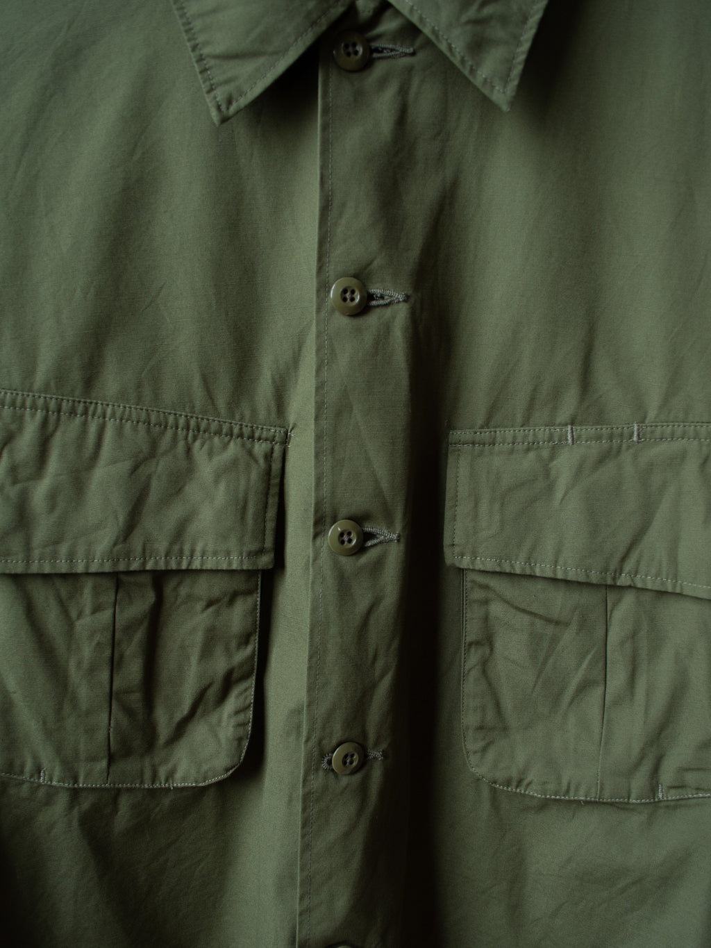 Namu Shop - A Vontade Fatigue Shirt Jacket - Olive
