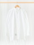 Namu Shop - Kaptain Sunshine Finx Weather Regular Collar Shirt - White