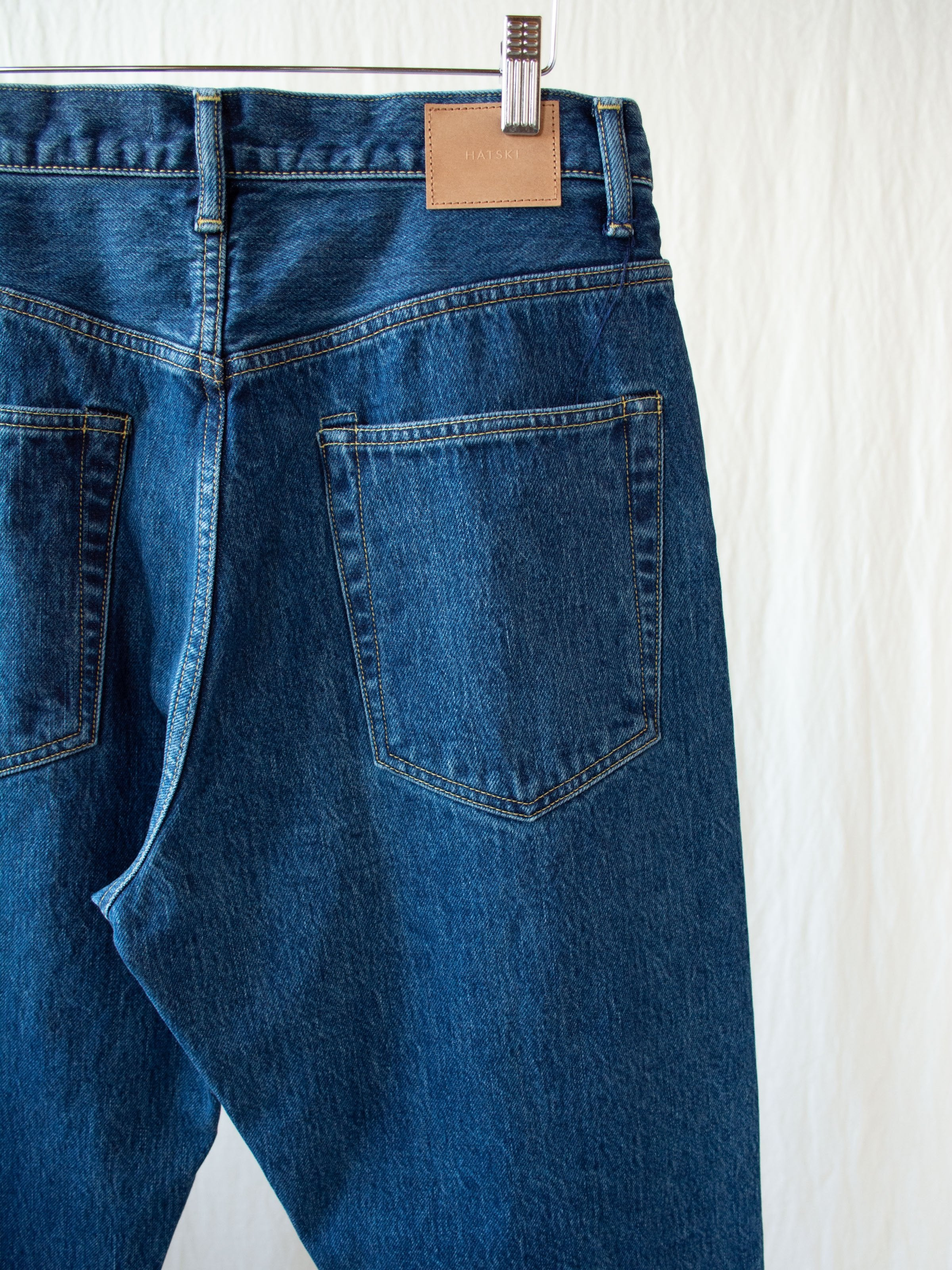 Namu Shop - Hatski Loose Tapered Denim - Blue