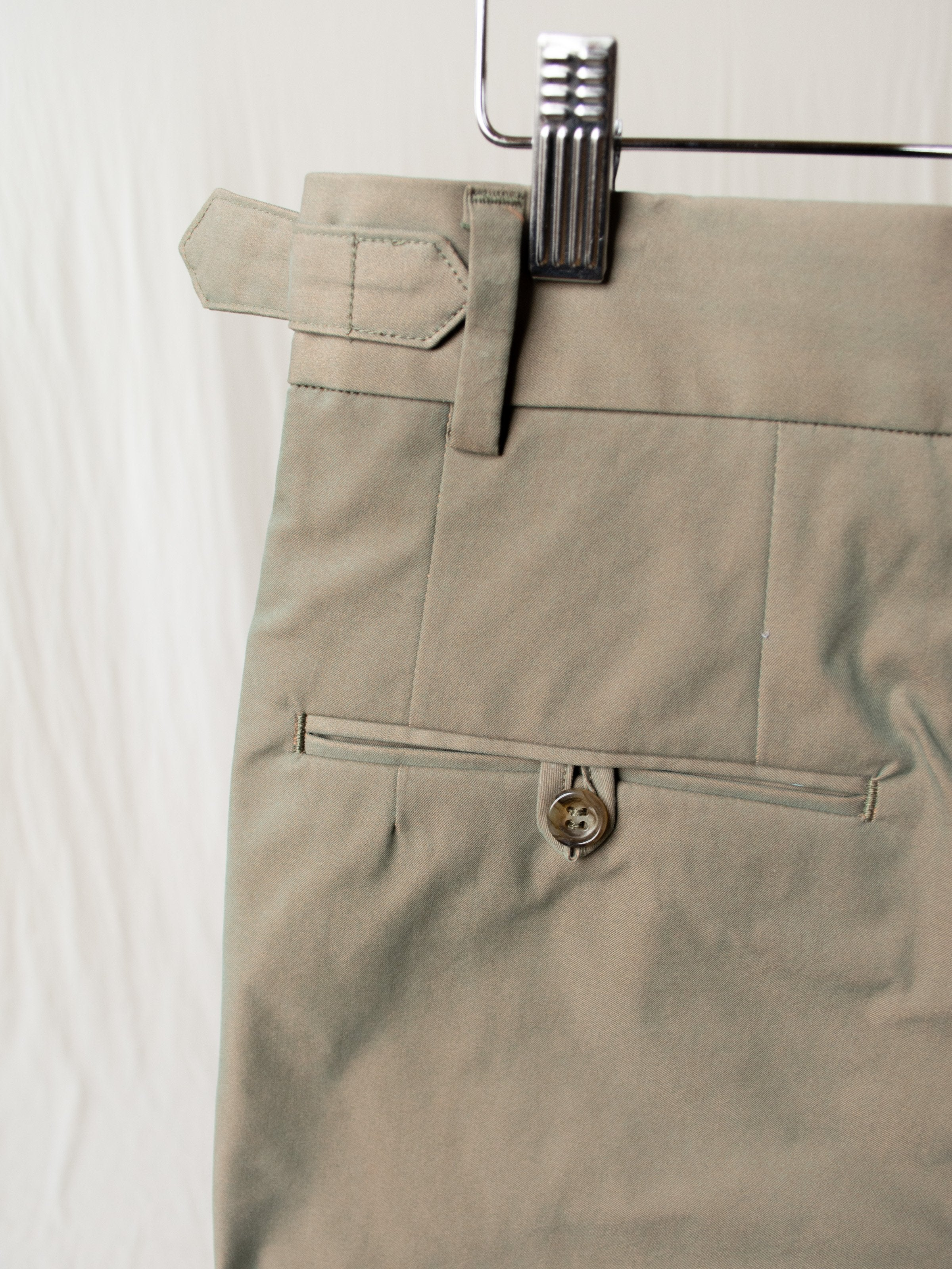 Namu Shop - A Vontade Officer Trouser - Olive Drab
