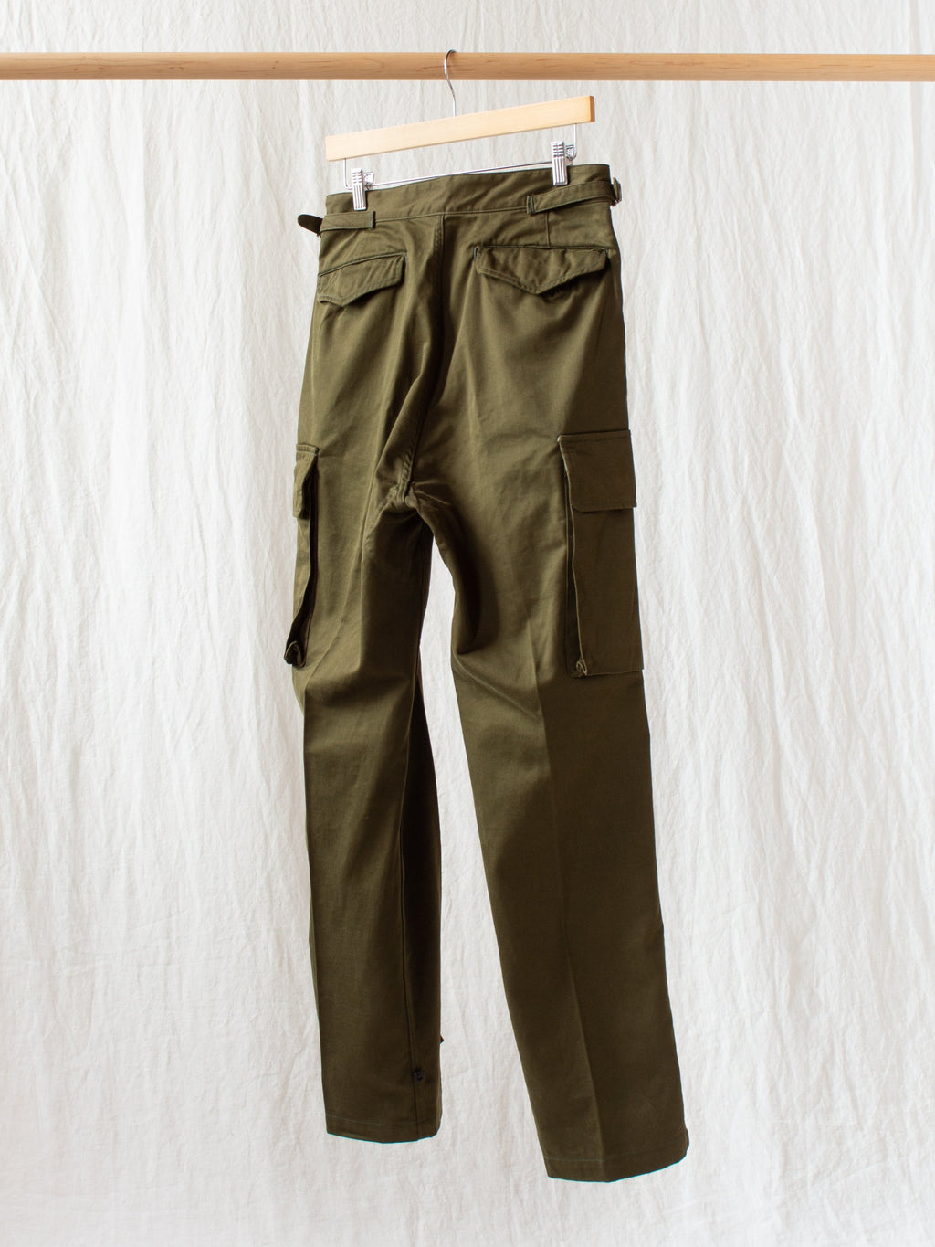 Namu Shop - Kaptain Sunshine Army Cargo Pants - Olive