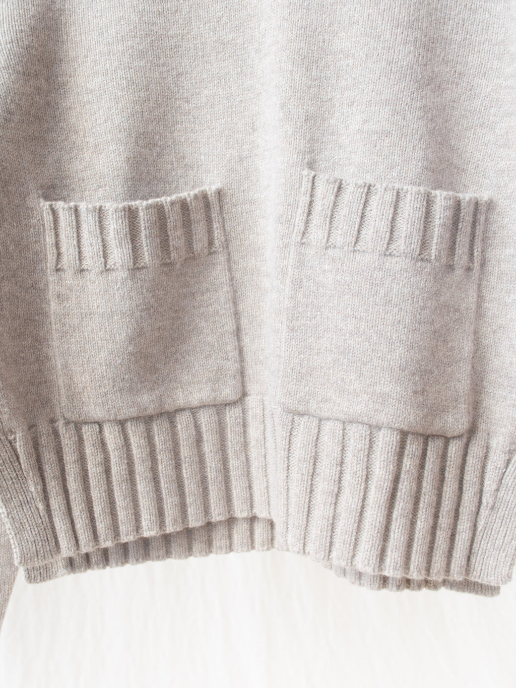 Nieto English Lambswool Split Knit - Cobble
